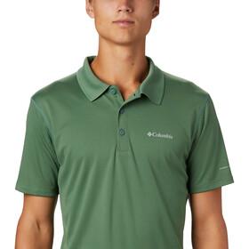 Columbia Zero Rules Polo Shirt Men thyme green